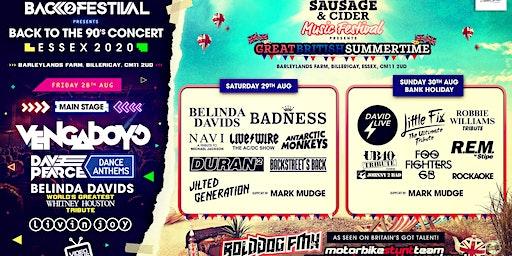 Essex Sausage & Cider Music Festival 2020