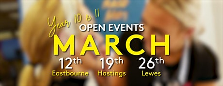 ESC Year 10 & 11 Open Event (Hastings) tickets