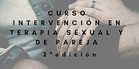 Intervención en terapia sexual y de pareja - 2ª edición. entradas