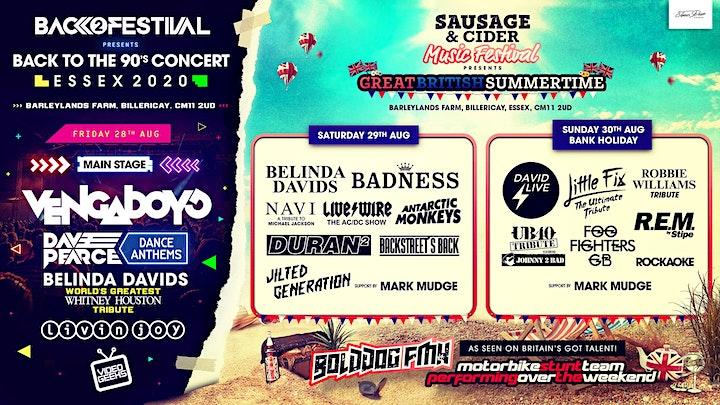 Essex Sausage & Cider Music Festival 2021 image