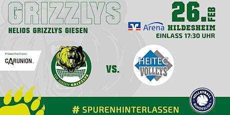 Helios GRIZZLYS vs. Heitec Volleys Eltmann Tickets