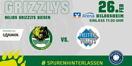 Helios GRIZZLYS vs. Heitec Volleys Eltmann
