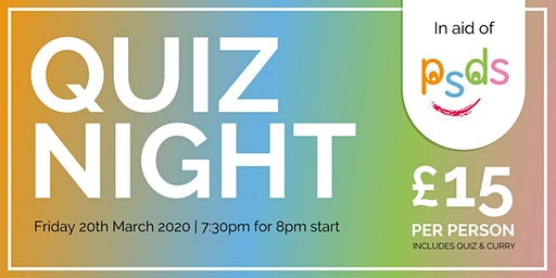 Quiz Night in aid of PSDS