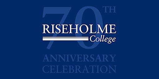Riseholme College's 70th Anniversary Celebration
