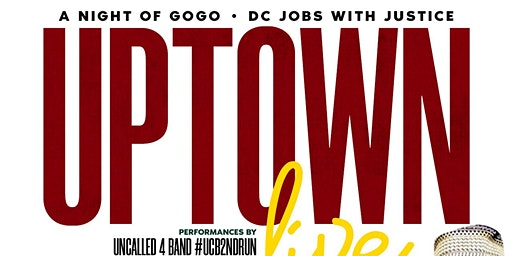 A Night of GoGo with DC Jobs With Justice