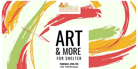11th Annual Art & More for Shelter tickets