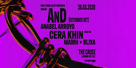 AnD [Extended Set], Cera Khin, Anabel Arroyo, tickets