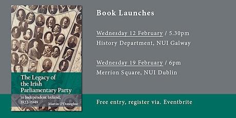 Martin O'Donoghue book launch / Dublin tickets