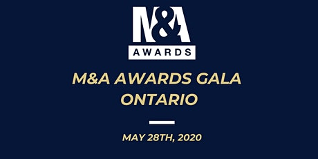 M&A Awards Gala (Ontario) tickets