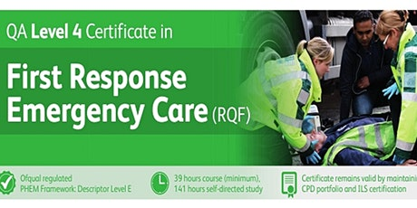 First Response Emergency Care (FREC) Level 4 tickets