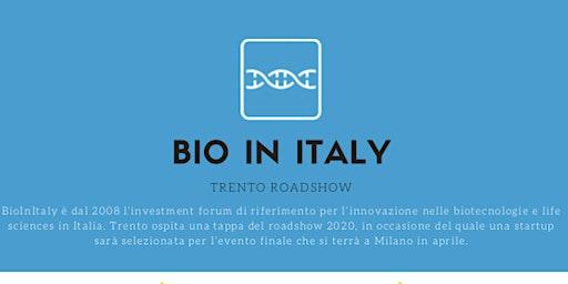BioInItaly – Trento Roadshow 2020