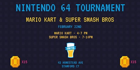 N64 Tournament tickets
