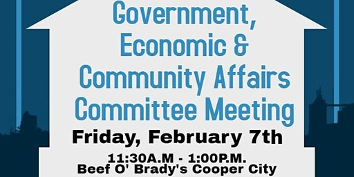 Government, Economic & Community Affairs Meeting and Lunch