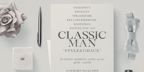 CLASSIC MAN: THE EXCLUSIVE DAY PARTY tickets
