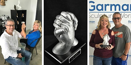Couple's Hand Sculpture Casting Session. The gift that lasts a lifetime! tickets