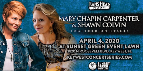 Mary Chapin Carpenter & Shawn Colvin at the Sunset Green Event Lawn tickets
