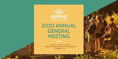 Camp Kee-Mo-Kee 2020 AGM tickets