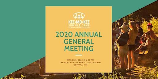 Camp Kee-Mo-Kee 2020 AGM