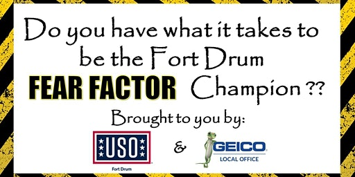 Fort Drum Fear Factor