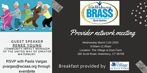 BRASS Provider Network Meeting