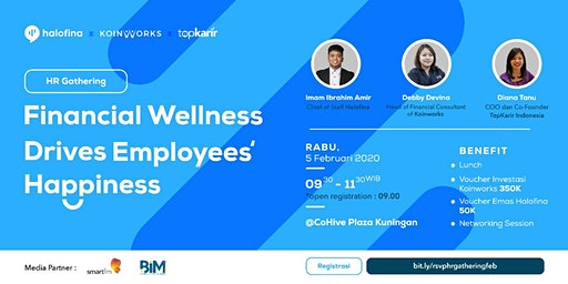HR Gathering - Financial Wellness Drives Employees Happiness