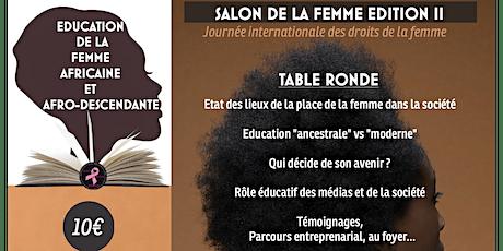 EDUCATION DE LA FEMME AFRICAINE ET AFRO-DESCENDANTE tickets