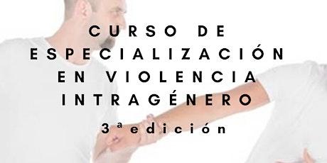 Curso de Especialización en Violencia Intragénero - 3ª edición. entradas