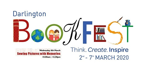 Darlington Bookfest 2020 | Sewing Pictures with Memories tickets