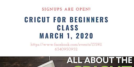 Cricut for Beginners Class