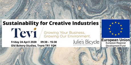 Sustainability for Creative Industries tickets