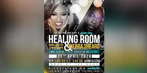 Jackson Chery & BTG ft. Kierra Sheard: Healing Room in Brockton MA