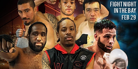 Fight Night In the Bay - Professional Boxing in San Mateo tickets