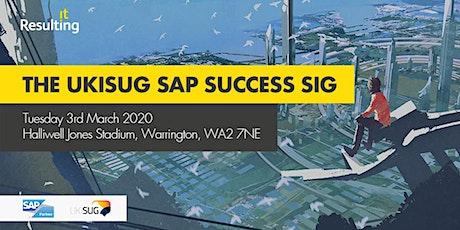 UKISUG SAP Success SIG tickets