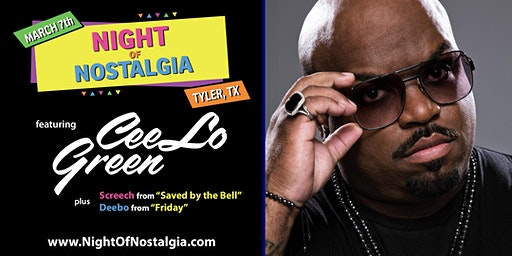 Night Of Nostalgia Featuring CeeLo Green - Benefiting PATH