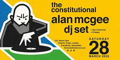 Alan McGee DJ Set. tickets