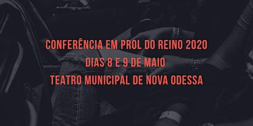 Conferência Em Prol do Reino 2020 #SomosFamília