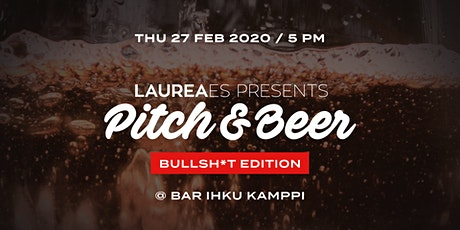 Pitch&Beer 27.2. - Bullsh*t Edition tickets