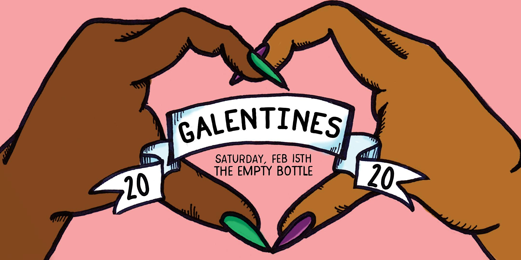 Feminist Happy Hour Galentine's BFF Pop Up Party