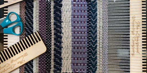 Hand Weaving with Kirsty Jean at Art in the Mill, Knaresborough