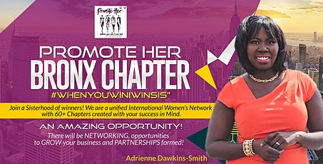 Promote-Her Bronx Chapter Monthly Meeting tickets