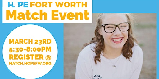 Hope Fort Worth Match Event - Tarrant Co