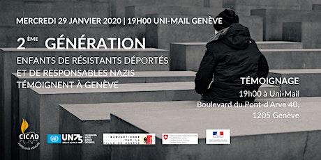 2ème génération: Enfants de résistants et de responsables nazis témoignent billets