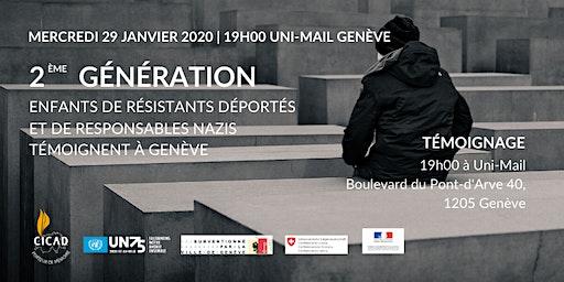 2ème génération: Enfants de résistants et de responsables nazis témoignent
