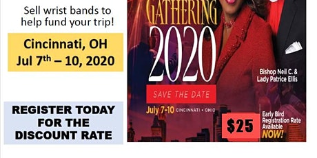 Gathering 2020  Register for $25.00 tickets