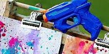 Family Workshop: Squirt Gun Watercolors