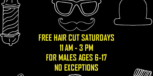 Free Haircut Saturdays