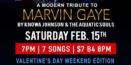 A Modern Tribute to Marvin Gaye-Valentines Weekend tickets