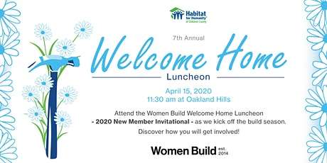 POSTPONED: Habitat Women Build 7th Annual Welcome Home Luncheon tickets