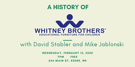 Presentation on the History of Whitney Bros. tickets
