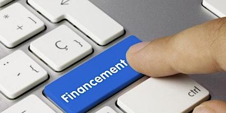 atelier financement à la création d'entreprise billets